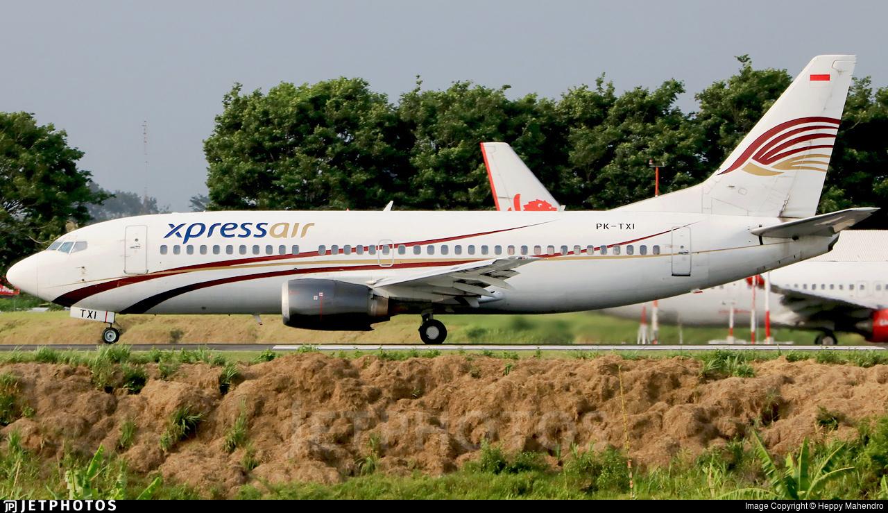 PK-TXI - Boeing 737-322 - XPress Air
