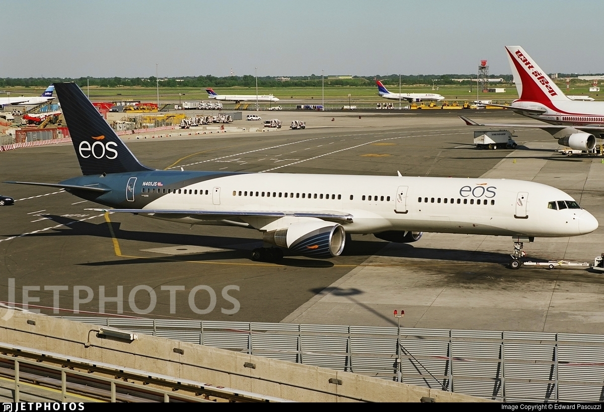 N401JS - Boeing 757-2Q8 - EOS Airlines