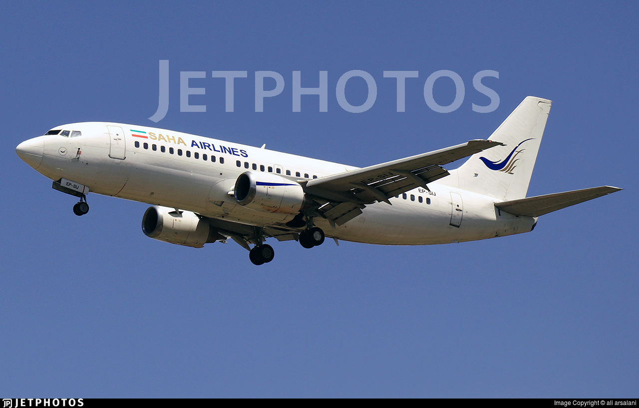 EP-SIJ - Boeing 737-3Q8 - Saha Air