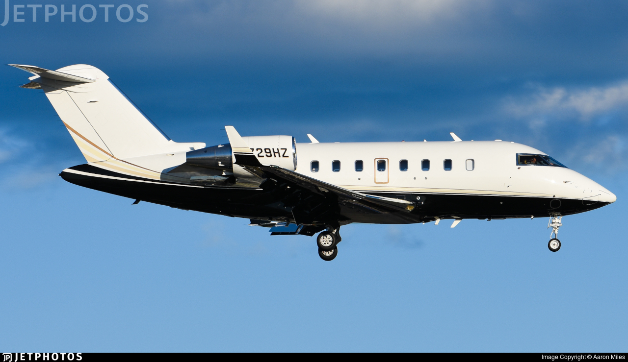 N729HZ - Bombardier CL-600-2B16 Challenger 605 - Private