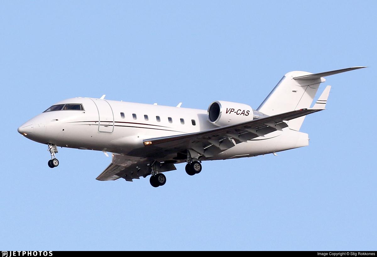 VP-CAS - Bombardier CL-600-2B16 Challenger 604 - Private