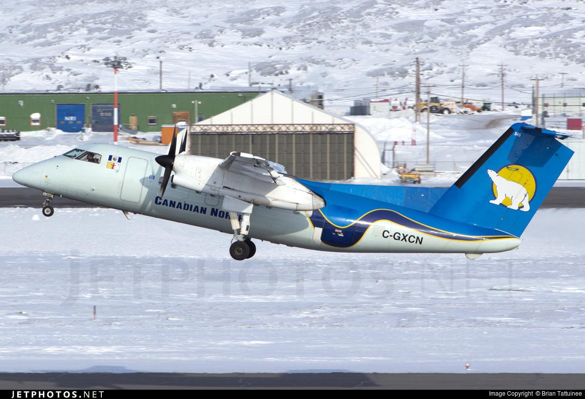 C-GXCN - Bombardier Dash 8-106 - Canadian North