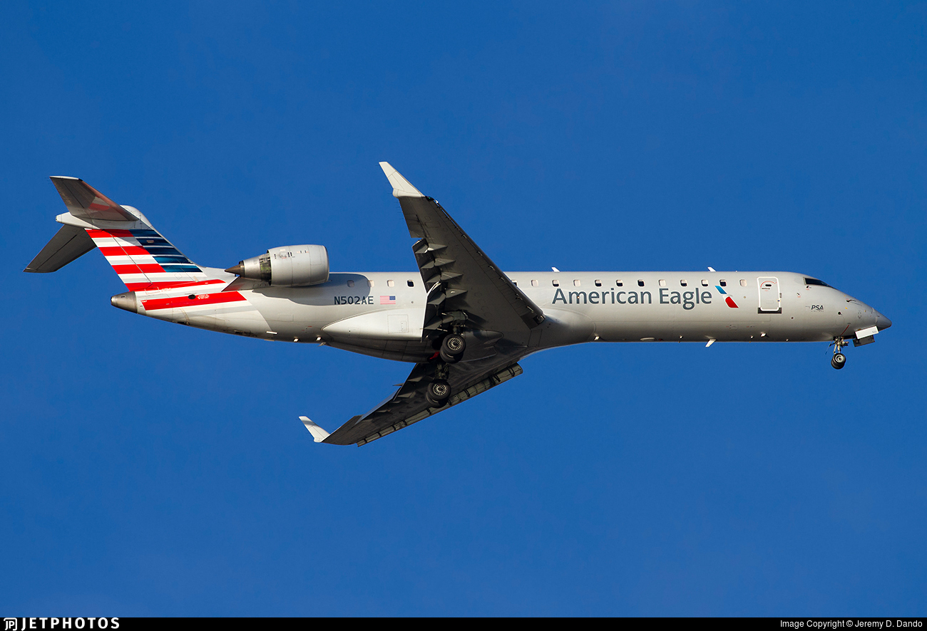 N502AE - Bombardier CRJ-701ER - American Eagle (PSA Airlines)