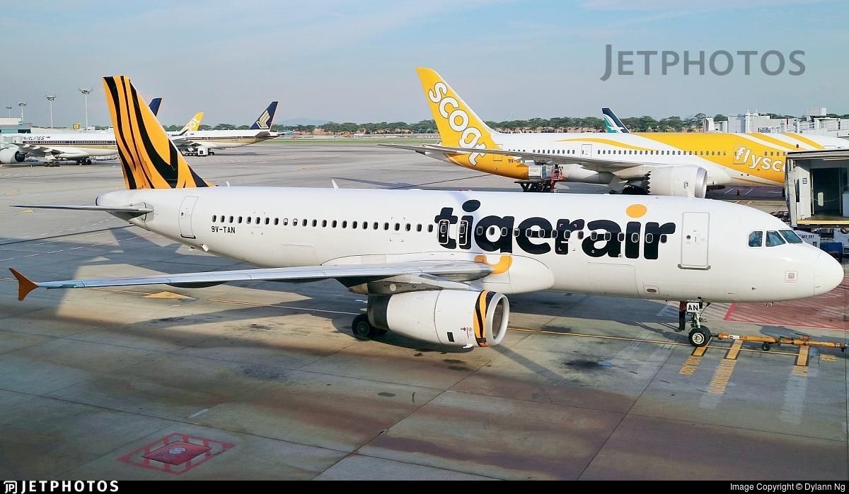 9V-TAN - Airbus A320-232 - Tigerair