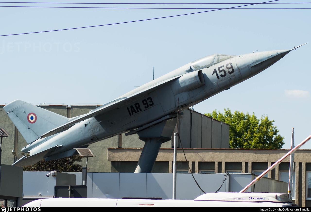 159 - IAR-93A - Romania - Air Force