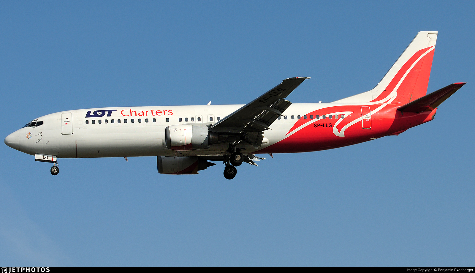 SP-LLG - Boeing 737-45D - LOT Charters