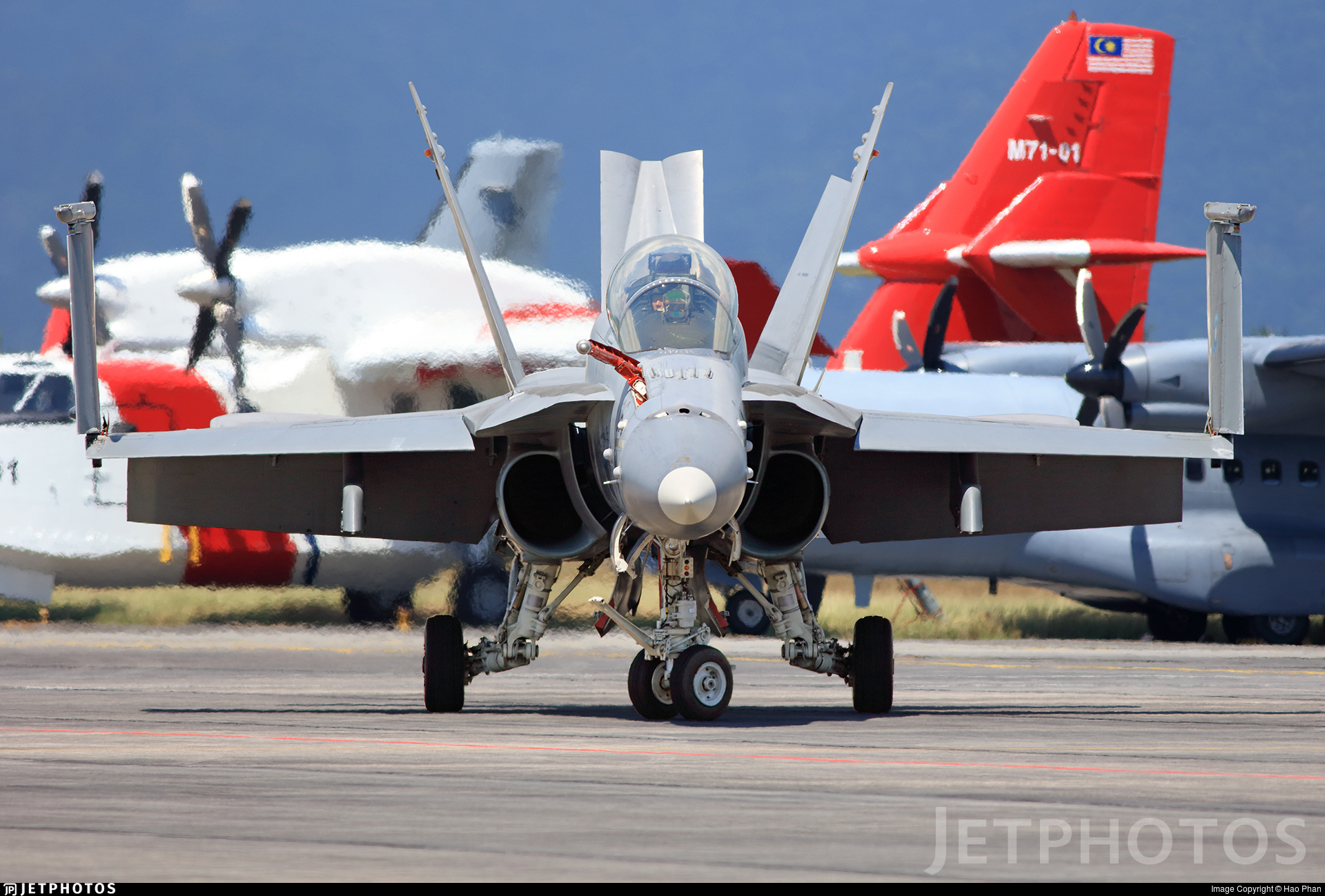 M45-06 - McDonnell Douglas F/A-18D Hornet - Malaysia - Air Force