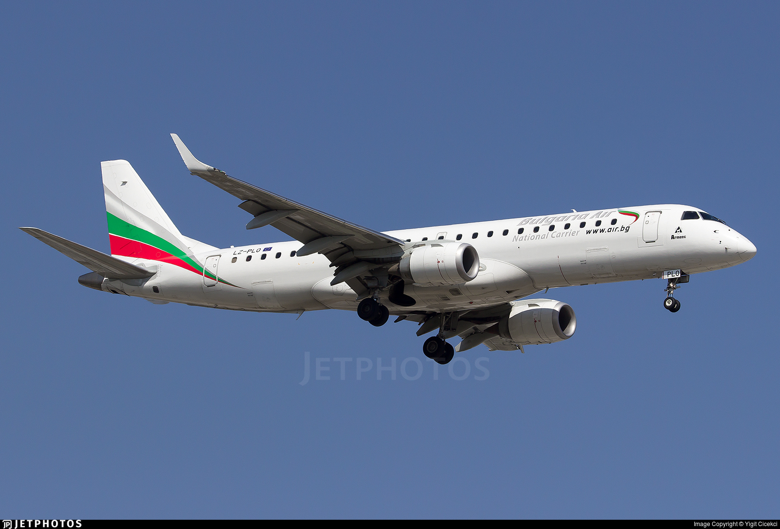 LZ-PLO - Embraer 190-100IGW - Bulgaria Air