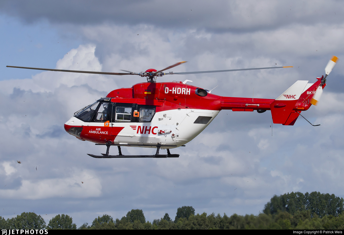 D-HDRH - MBB BK117B-2 - Northern Helicopter