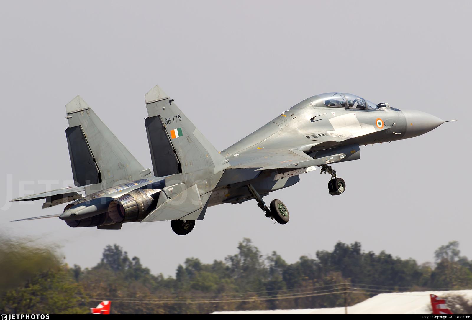 SB175 - Sukhoi Su-30MKI - India - Air Force