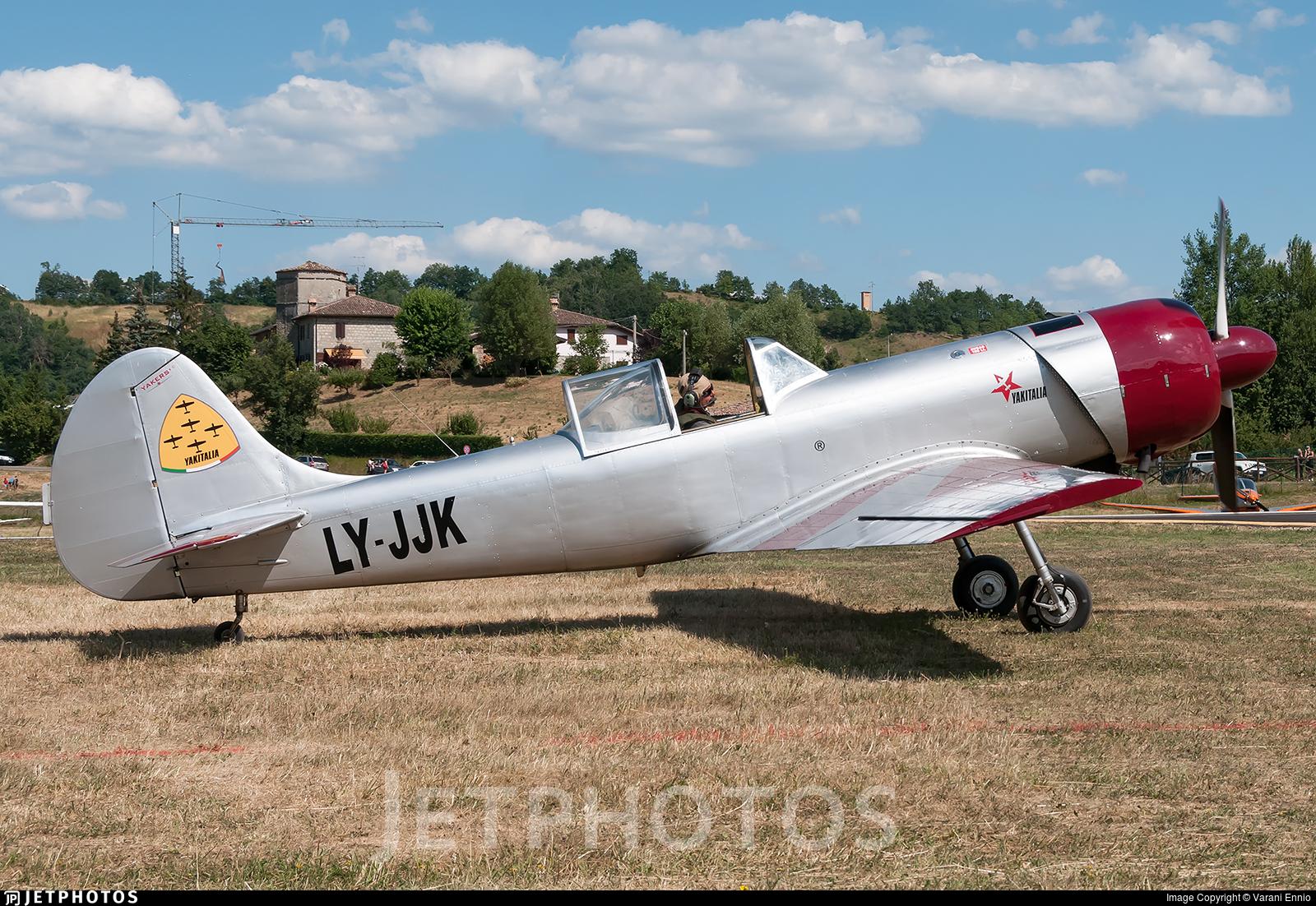 LY-JJK - Yakovlev Yak-50 - YakItalia
