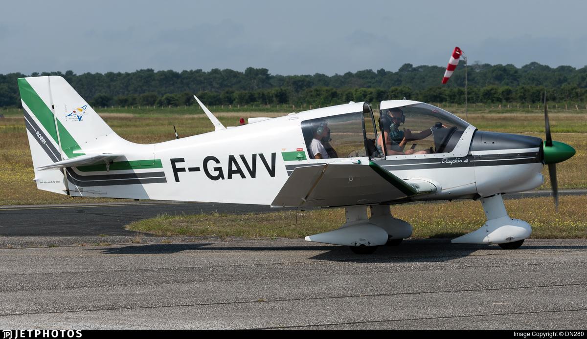 F-GAVV - Robin DR400/140B Major - Aéroclub François Hussenot