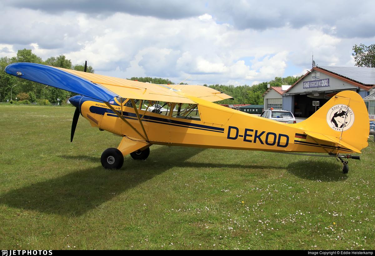 D-EKOD - Aviat A-1B Husky - Fliegerclub Moosburg