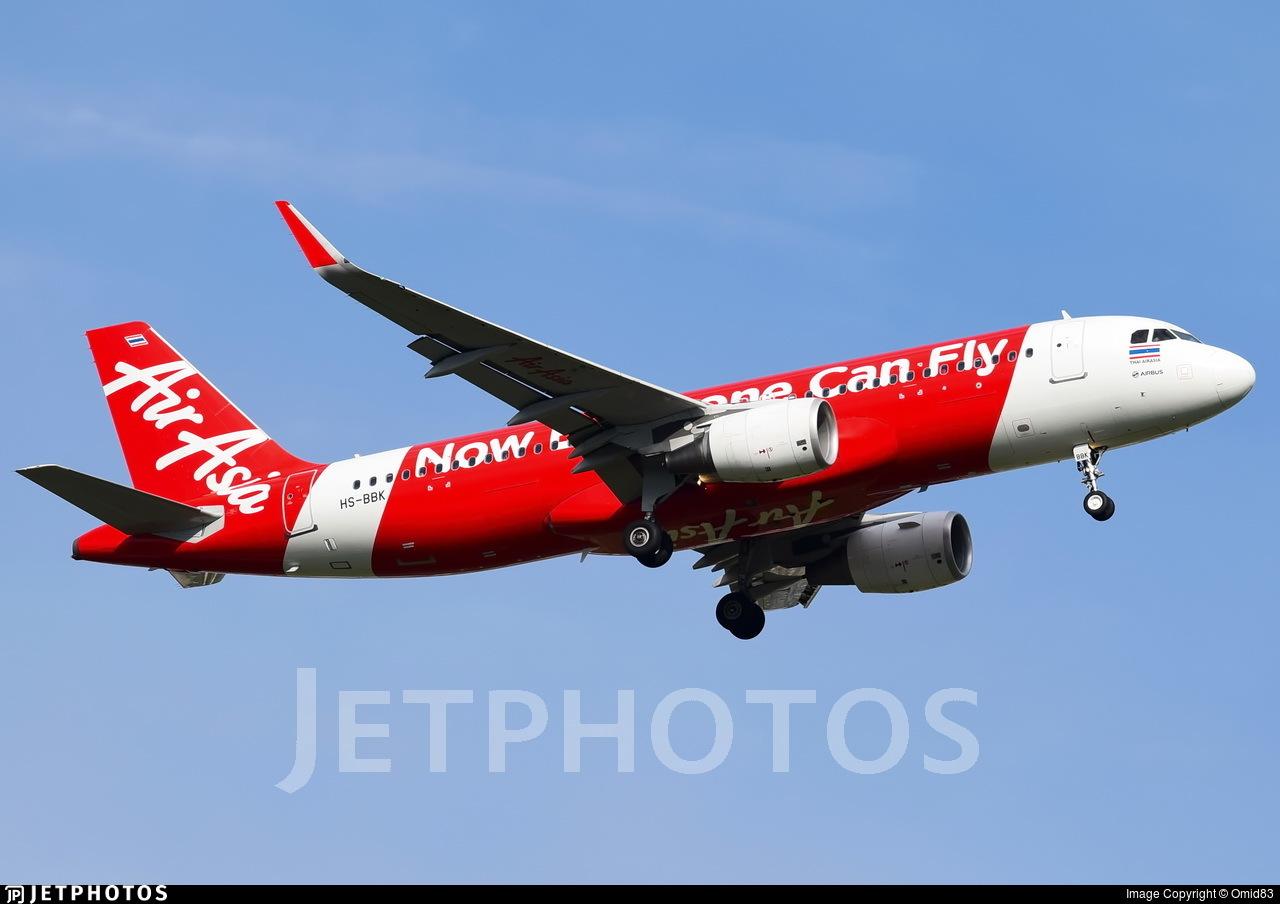 HS-BBK - Airbus A320-216 - Thai AirAsia