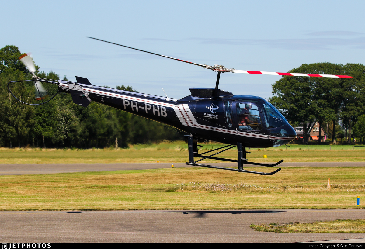 PH-PHB - Enstrom 480 - Prince Helicopters Zierikzee