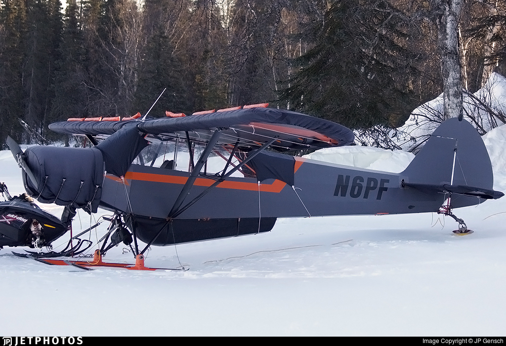 N6PF - Piper PA-18-95 Super Cub - Private