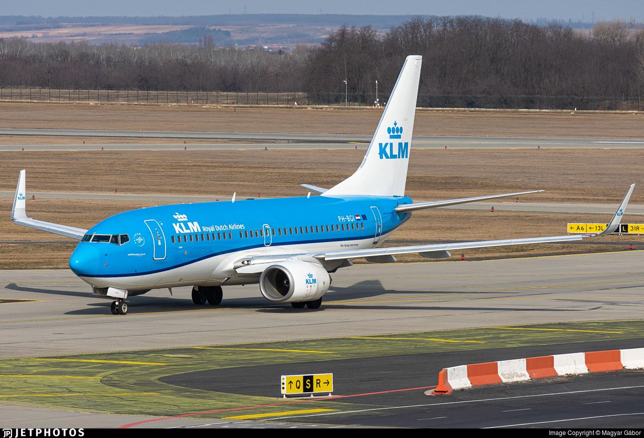 PH-BGI - Boeing 737-7K2 - KLM Royal Dutch Airlines