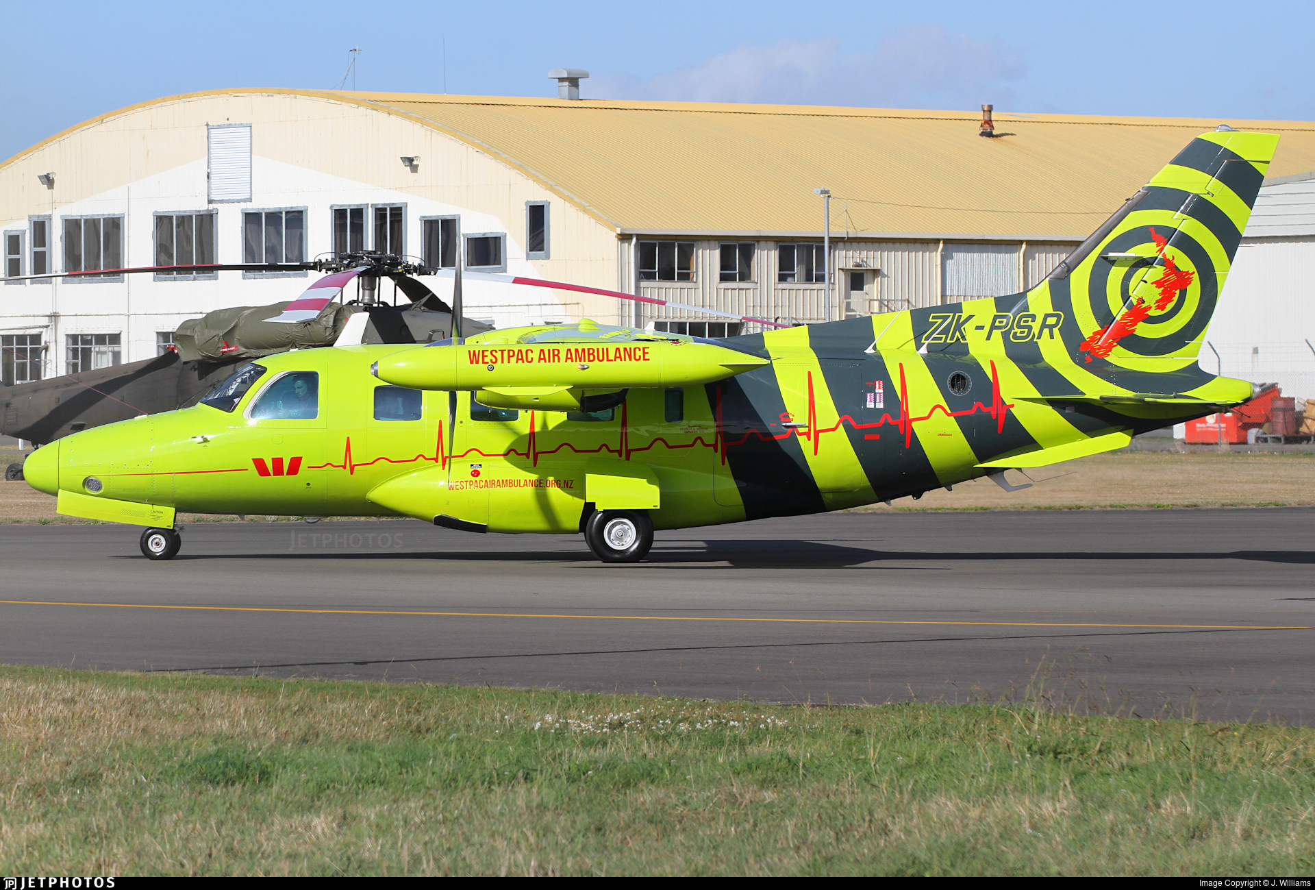 ZK-PSR - Mitsubishi MU-2B-60 Marquise - Westpac Life Saver Rescue Helicopter Service