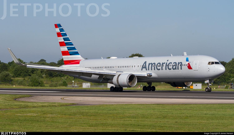 N339AA - Boeing 767-223(ER) - American Airlines
