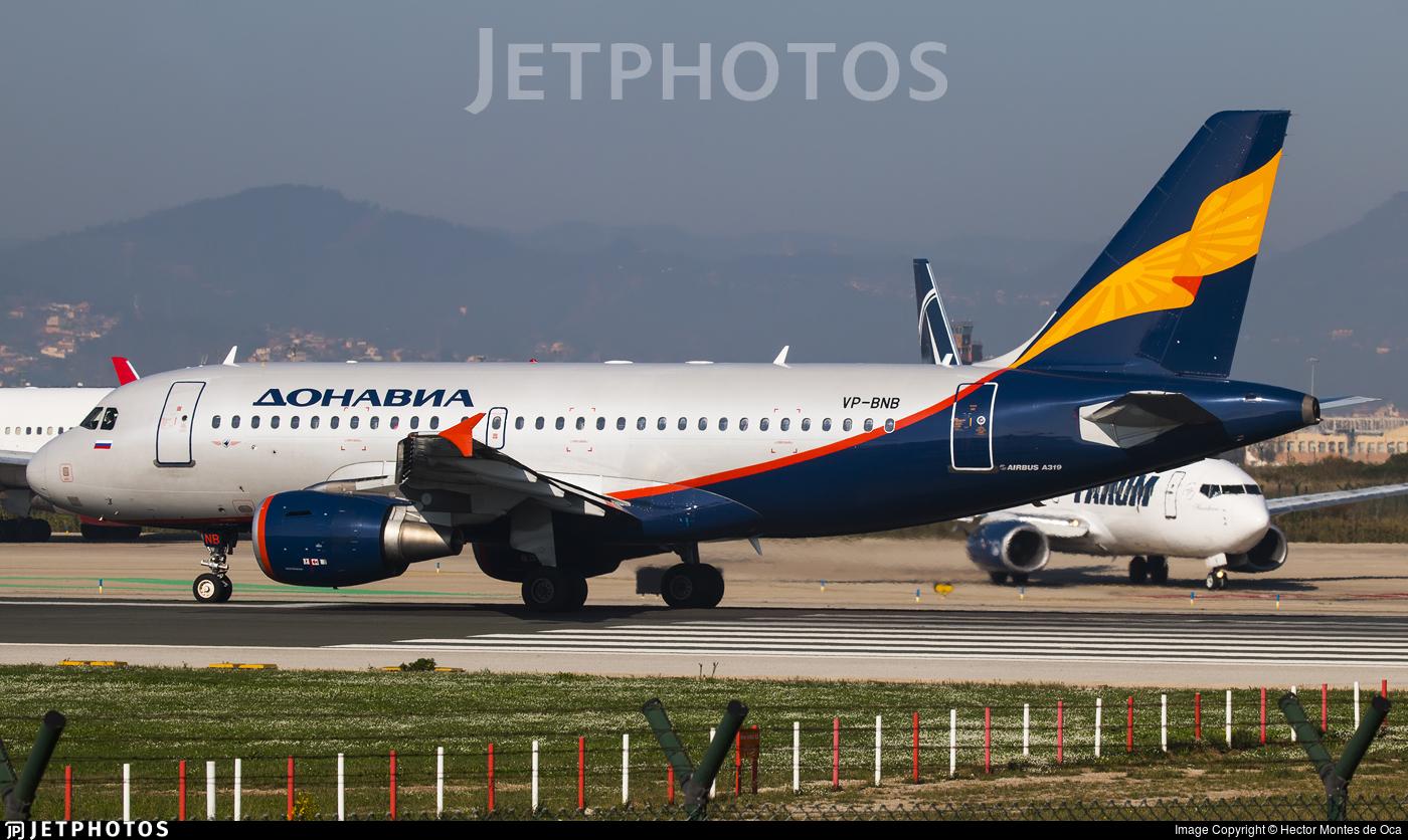 VP-BNB - Airbus A319-111 - Donavia