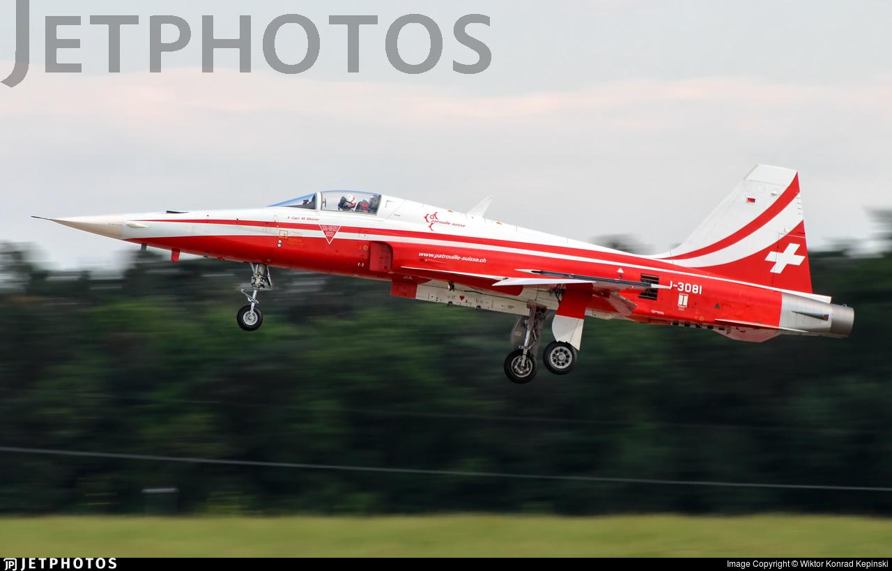 J-3081 - Northrop F-5E Tiger II - Switzerland - Air Force
