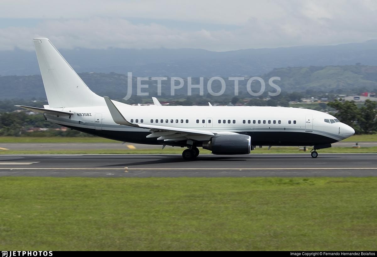 N835BZ - Boeing 737-7AK(BBJ) - Jet Force V