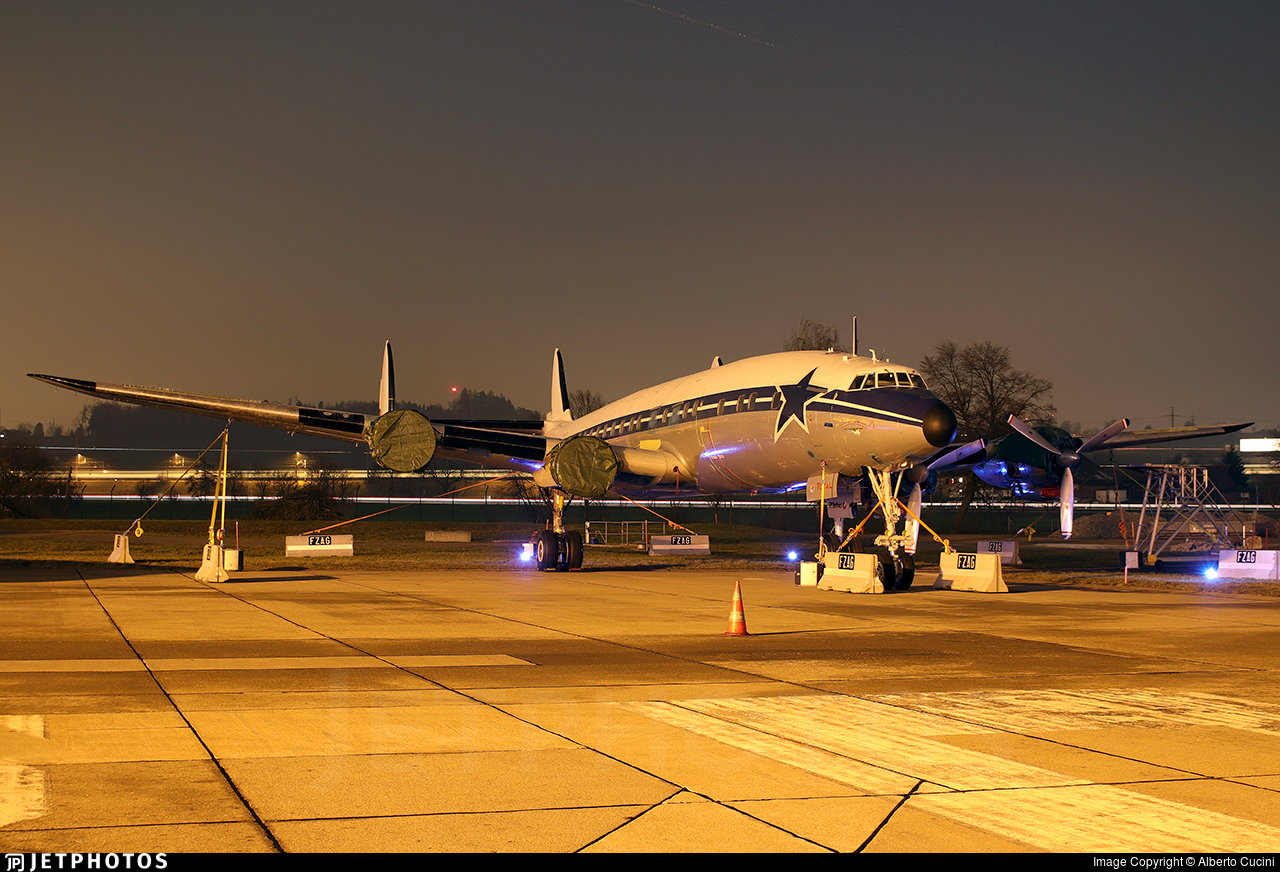 HB-RSC - Lockheed C-121C Super Constellation - Super Constellation Flyers Association