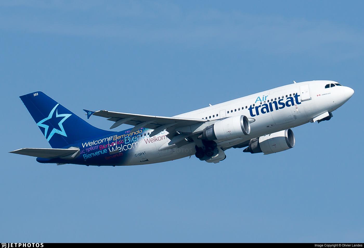 C-GPAT - Airbus A310-308 - Air Transat