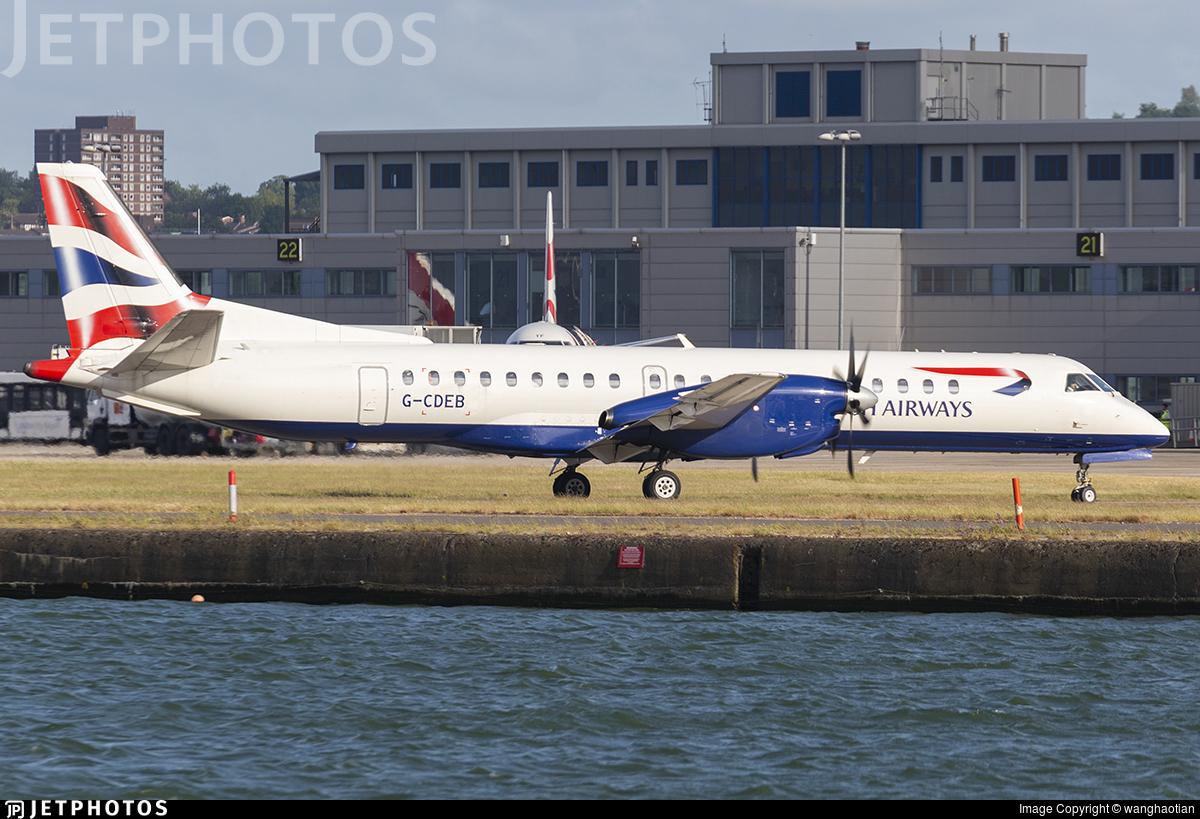 G-CDEB - Saab 2000 - British Airways