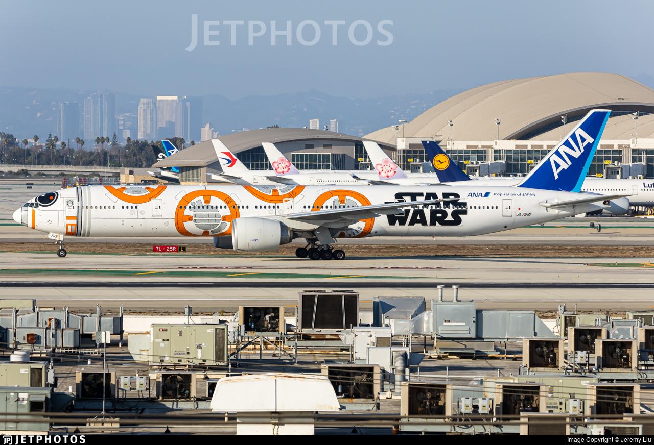 JA789A - Boeing 777-381ER - All Nippon Airways (ANA)