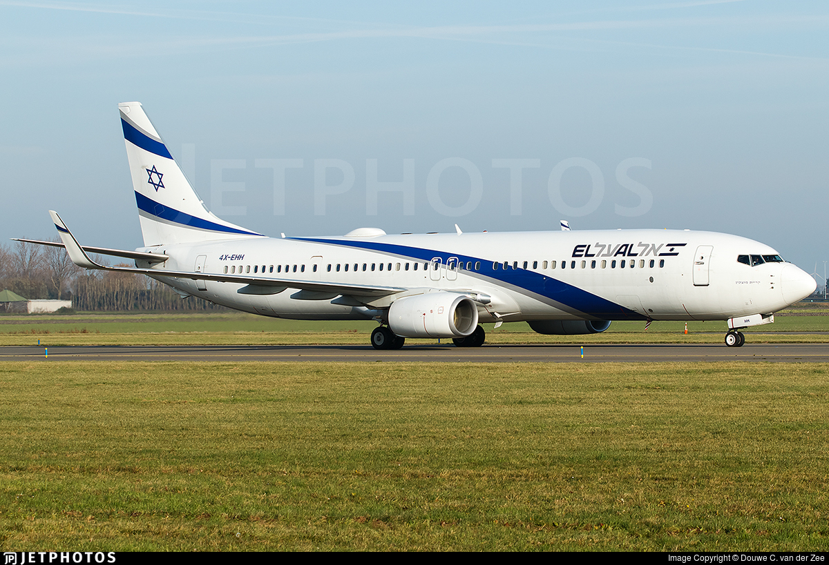 4X-EHH - Boeing 737-958ER - El Al Israel Airlines