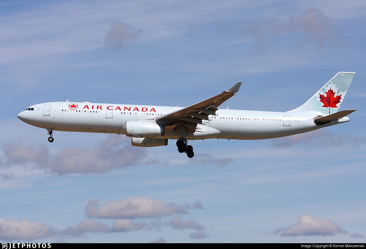 C-GFUR - Airbus A330-343 - Air Canada