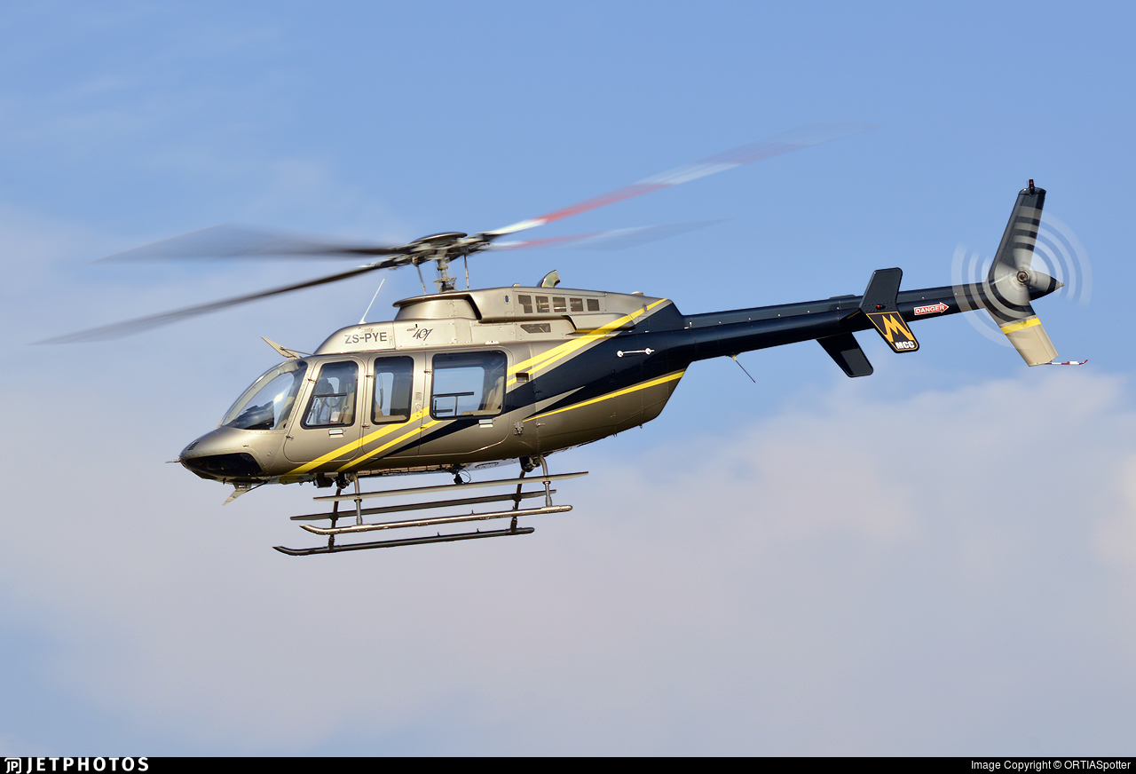 ZS-PYE - Bell 407 - Private