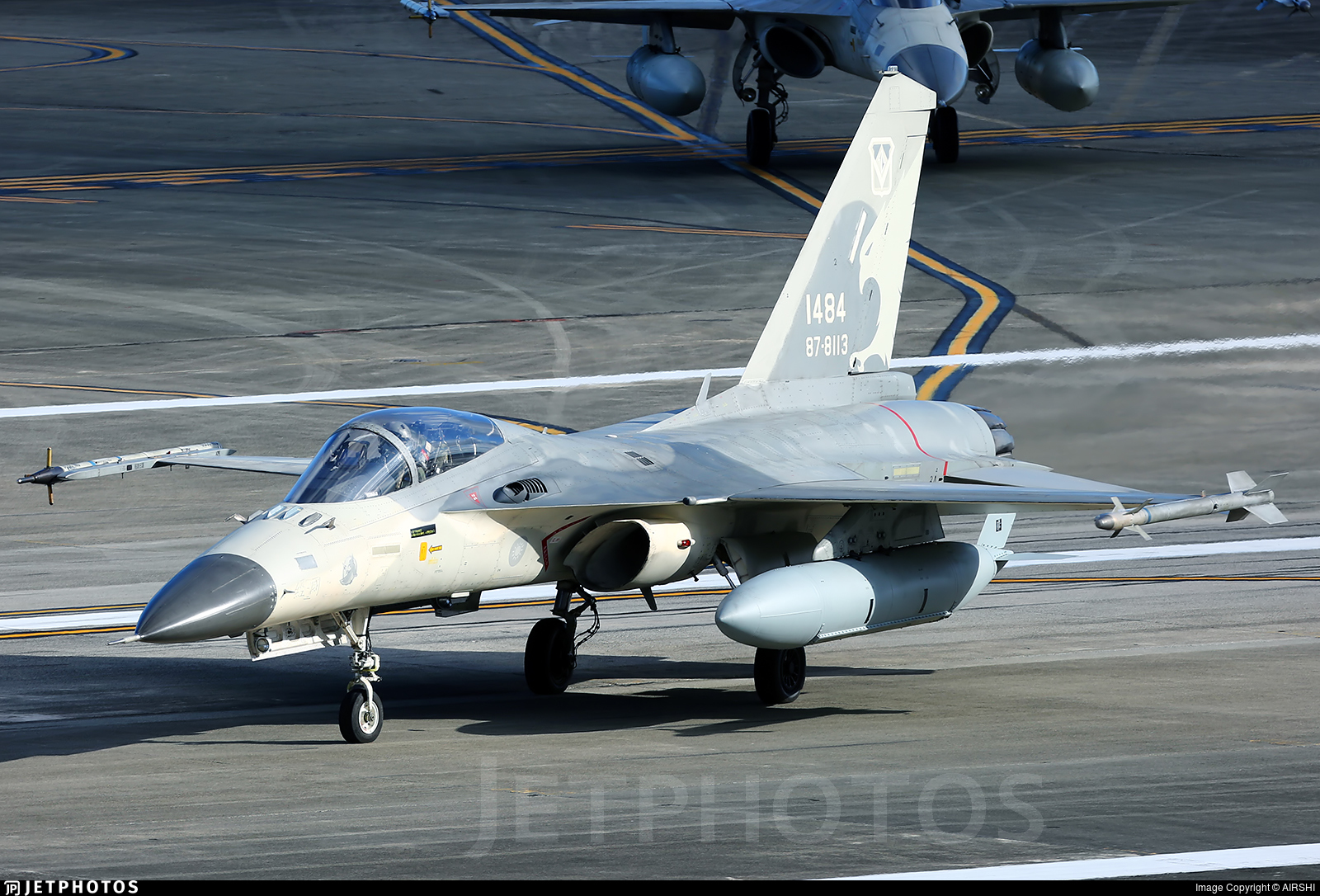 1484 - AIDC F-CK-1C Ching Kuo - Taiwan - Air Force