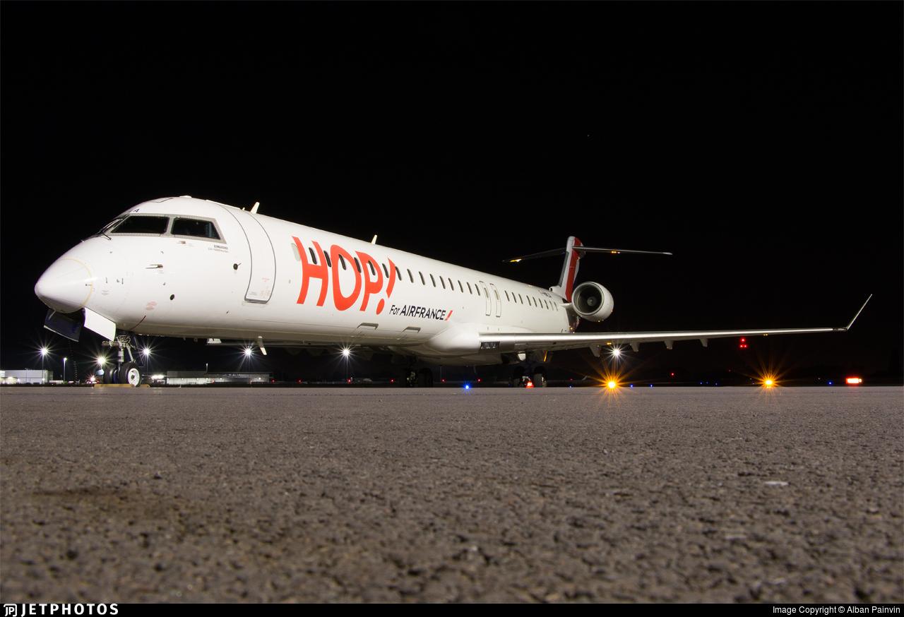 F-HMLA - Bombardier CRJ-1000EL - HOP! for Air France