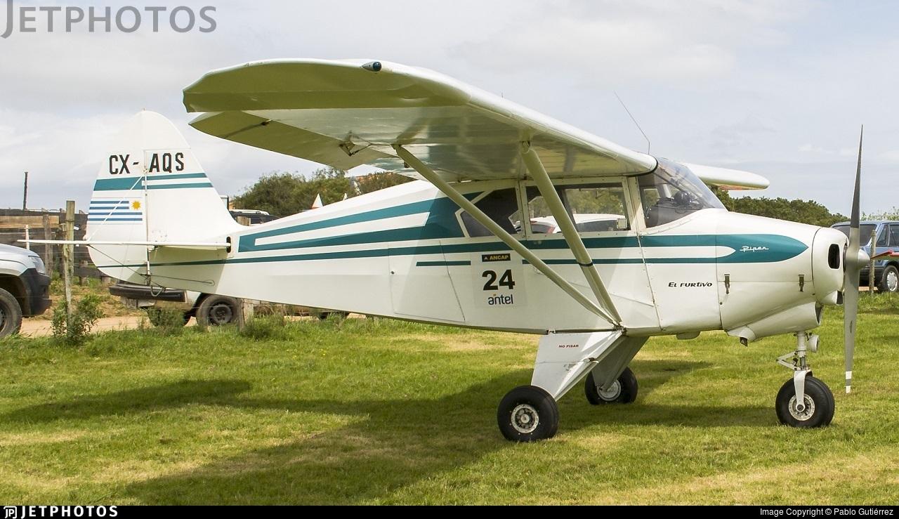 CX-AQS | Piper PA-22-150 Tri-Pacer | Private | Pablo Gutiérrez