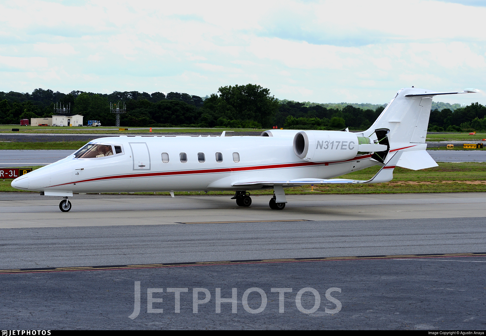 N317EC - Bombardier Learjet 60XR - Private