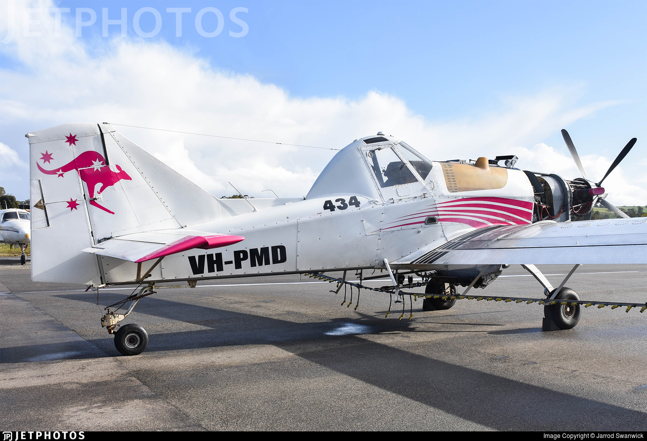 VH-PMD - Thrush Aircraft S2R-T660 - Central Highlands Aerial Services