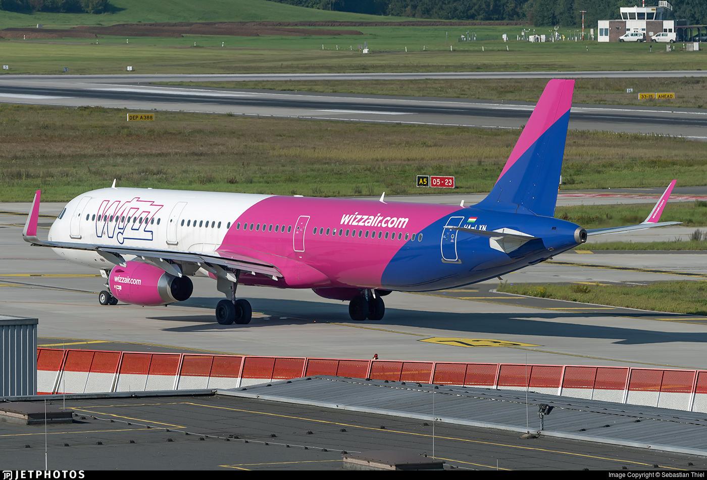 HA-LXN - Airbus A321-231 - Wizz Air