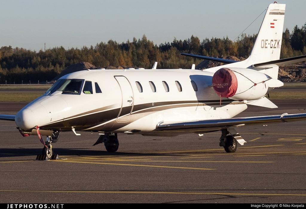OE-GZK - Cessna 560XL Citation XLS - International Jet Management