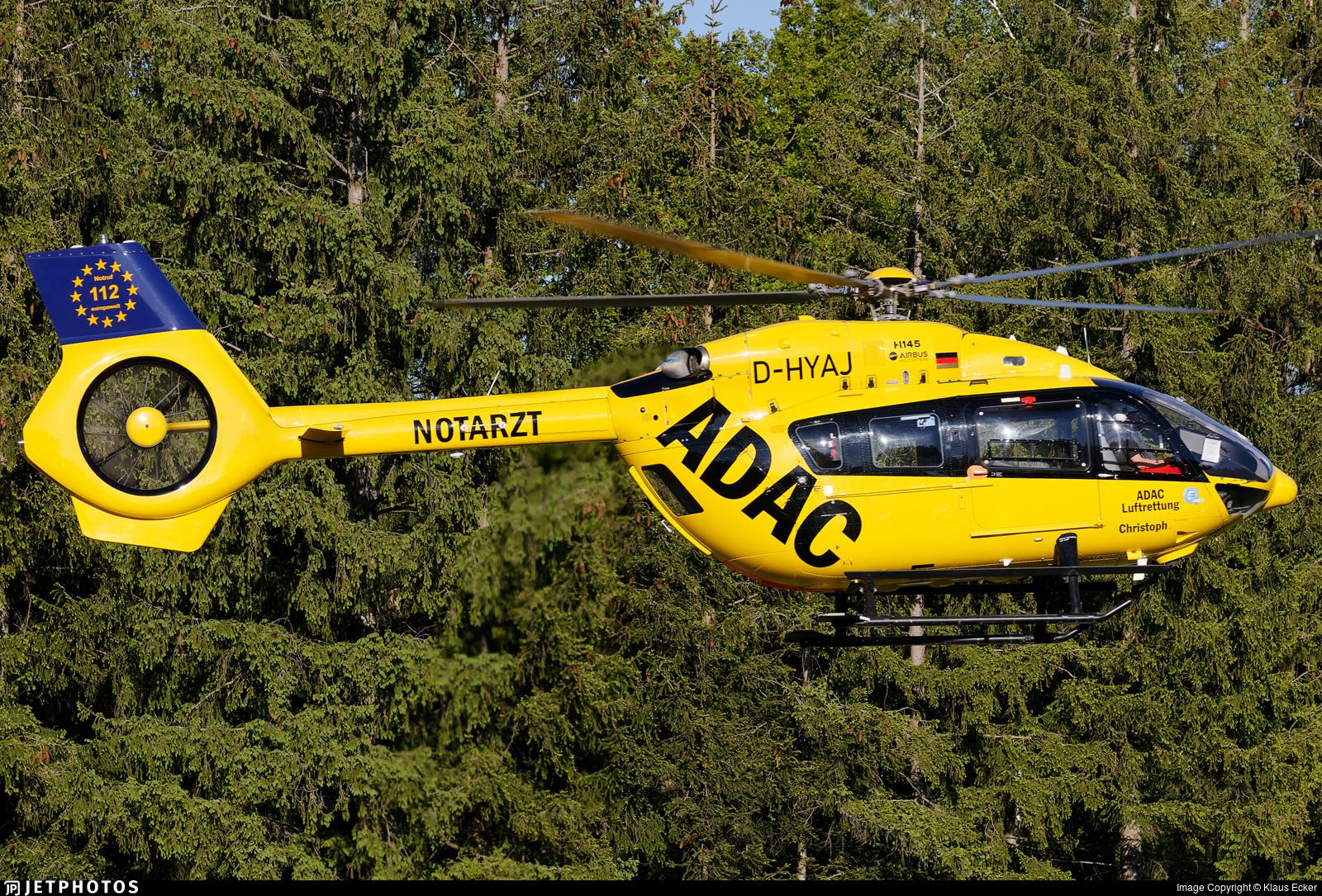D-HYAJ - Airbus Helicopters H145 - ADAC Luftrettung
