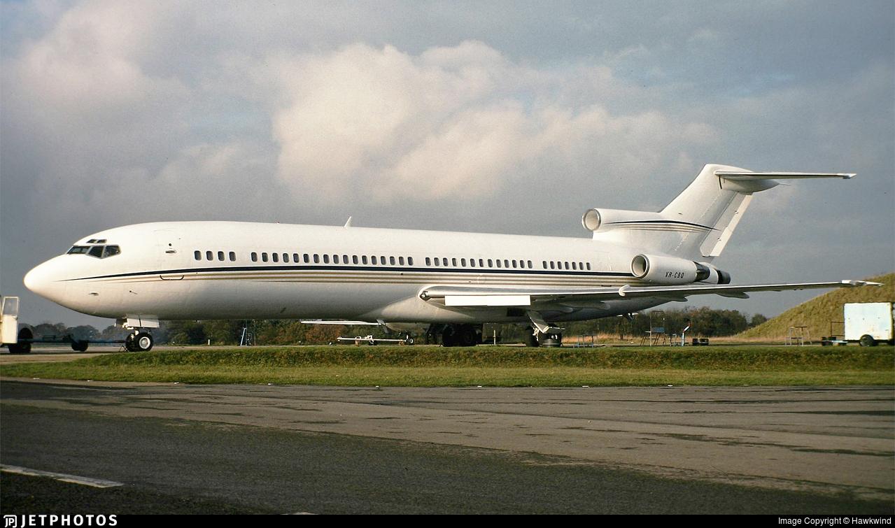 VR-CBQ - Boeing 727-212(Adv) - Precision Air Charters