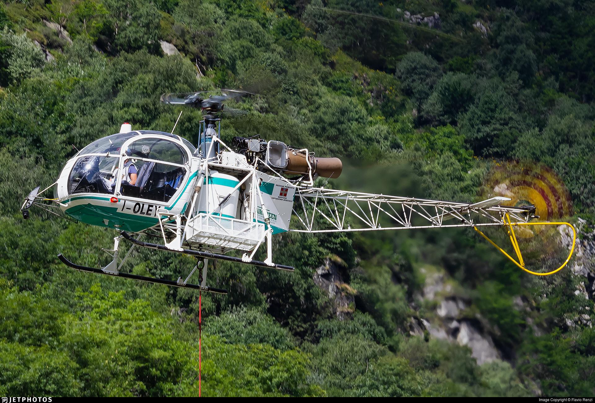I-OLEY - Aérospatiale SA 315B Lama - Air Green