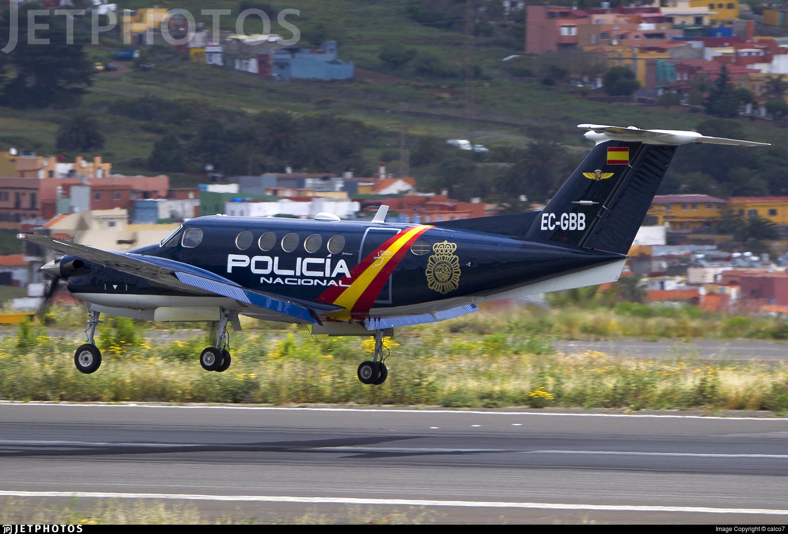 EC-GBB - Beechcraft B200 Super King Air - Spain - National Police