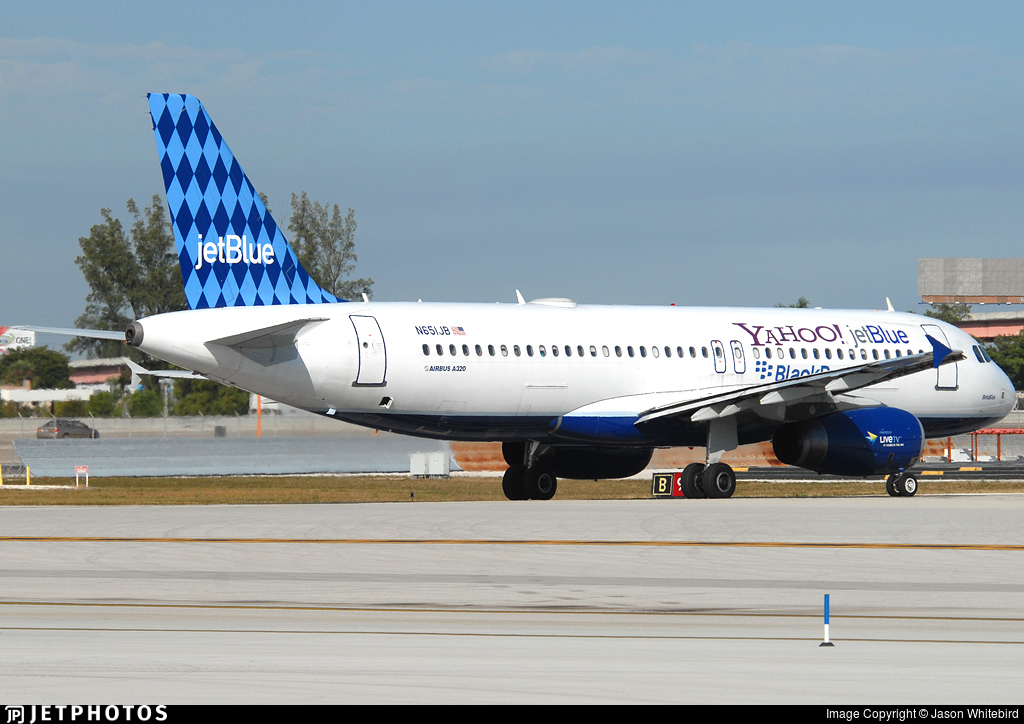 N651JB - Airbus A320-232 - jetBlue Airways