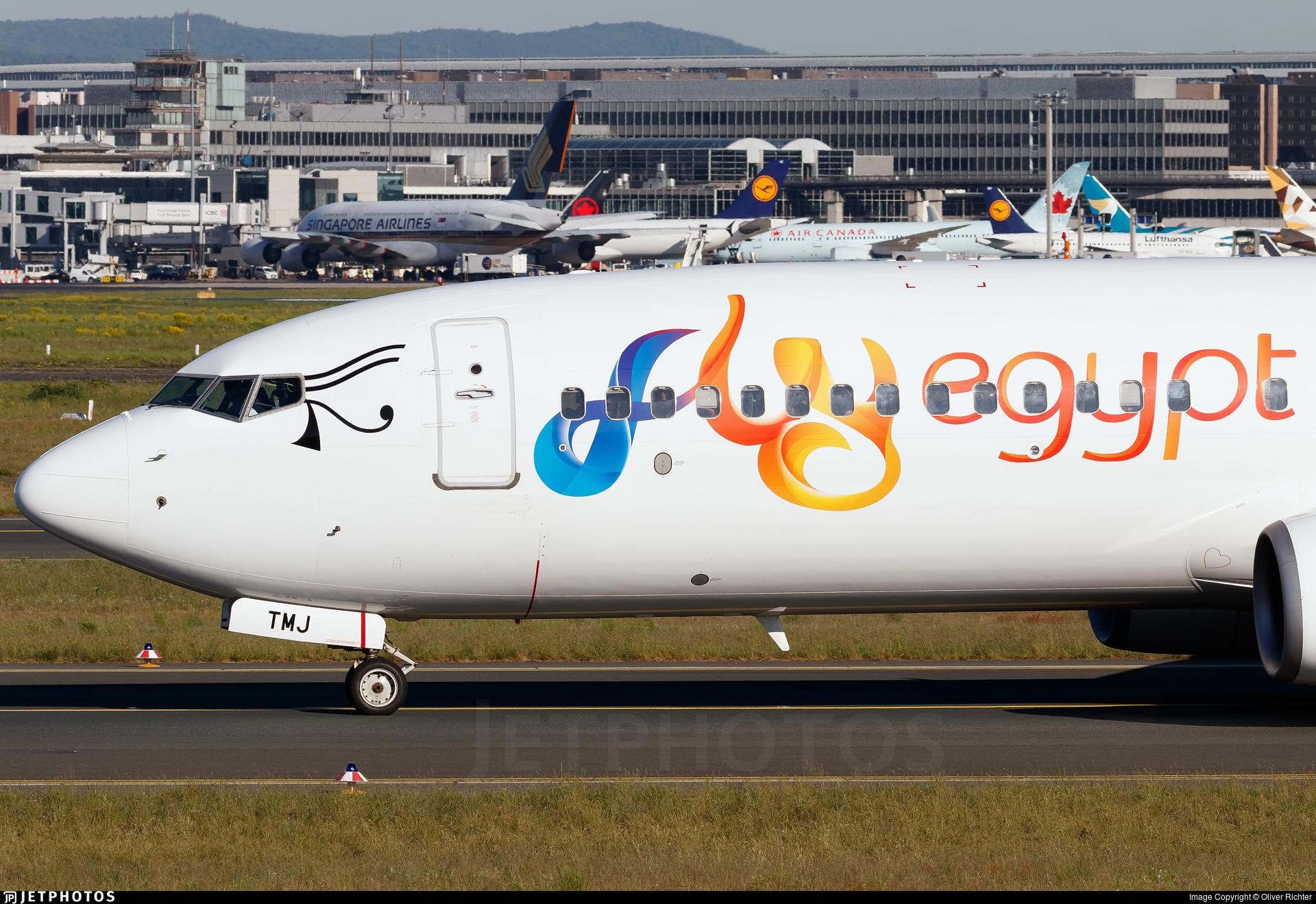 SU-TMJ - Boeing 737-82R - FlyEgypt