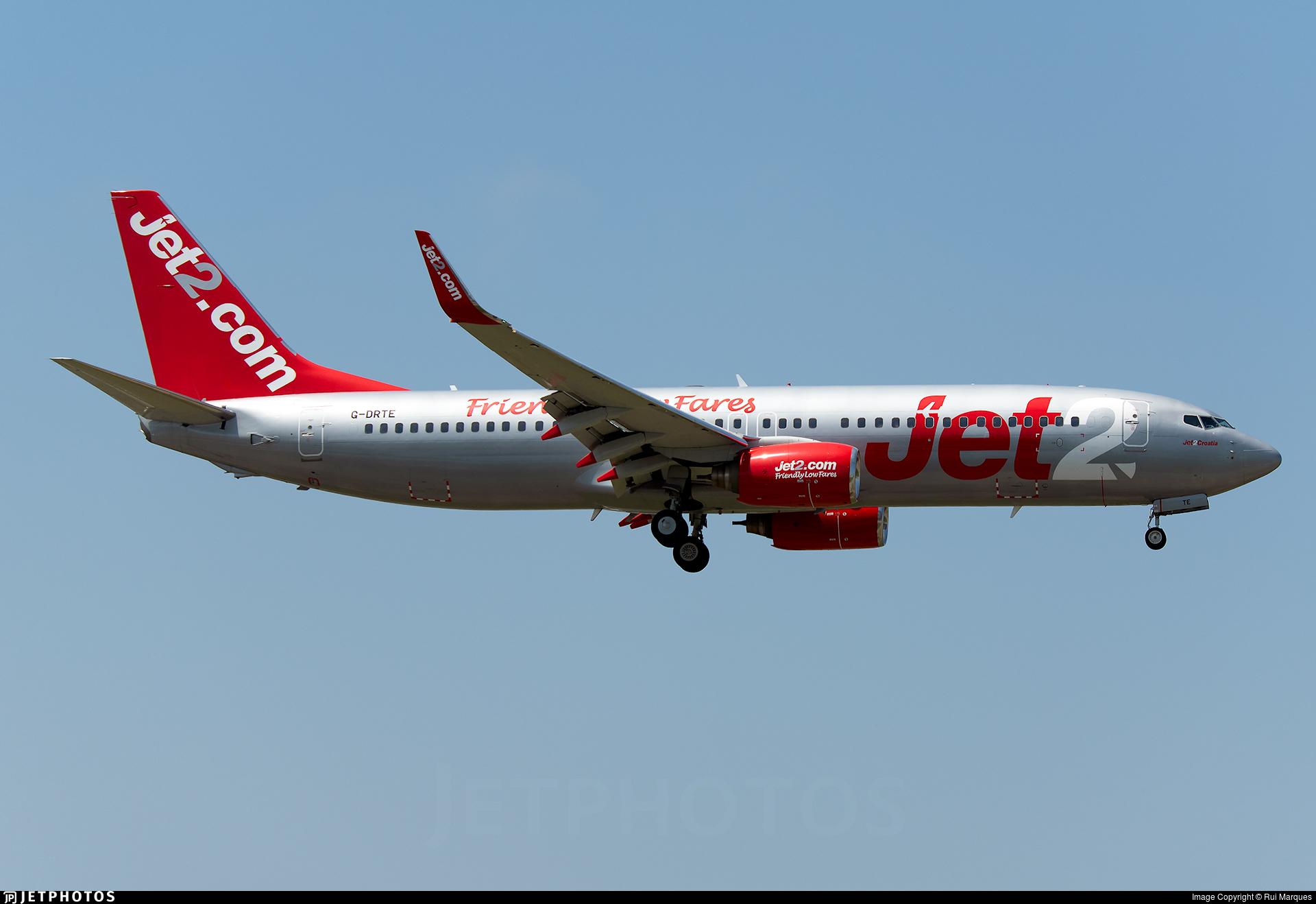 G-DRTE - Boeing 737-8K5 - Jet2.com