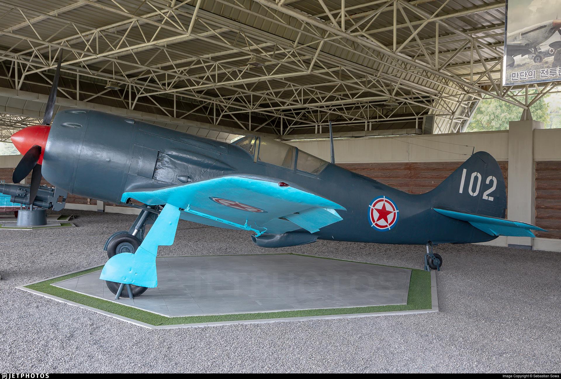 102 - Lavochkin La-9 - North Korea - Air Force