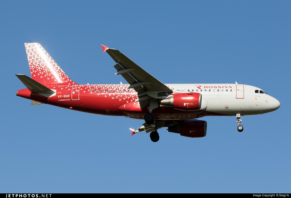 VP-BQK - Airbus A319-111 - Rossiya Airlines
