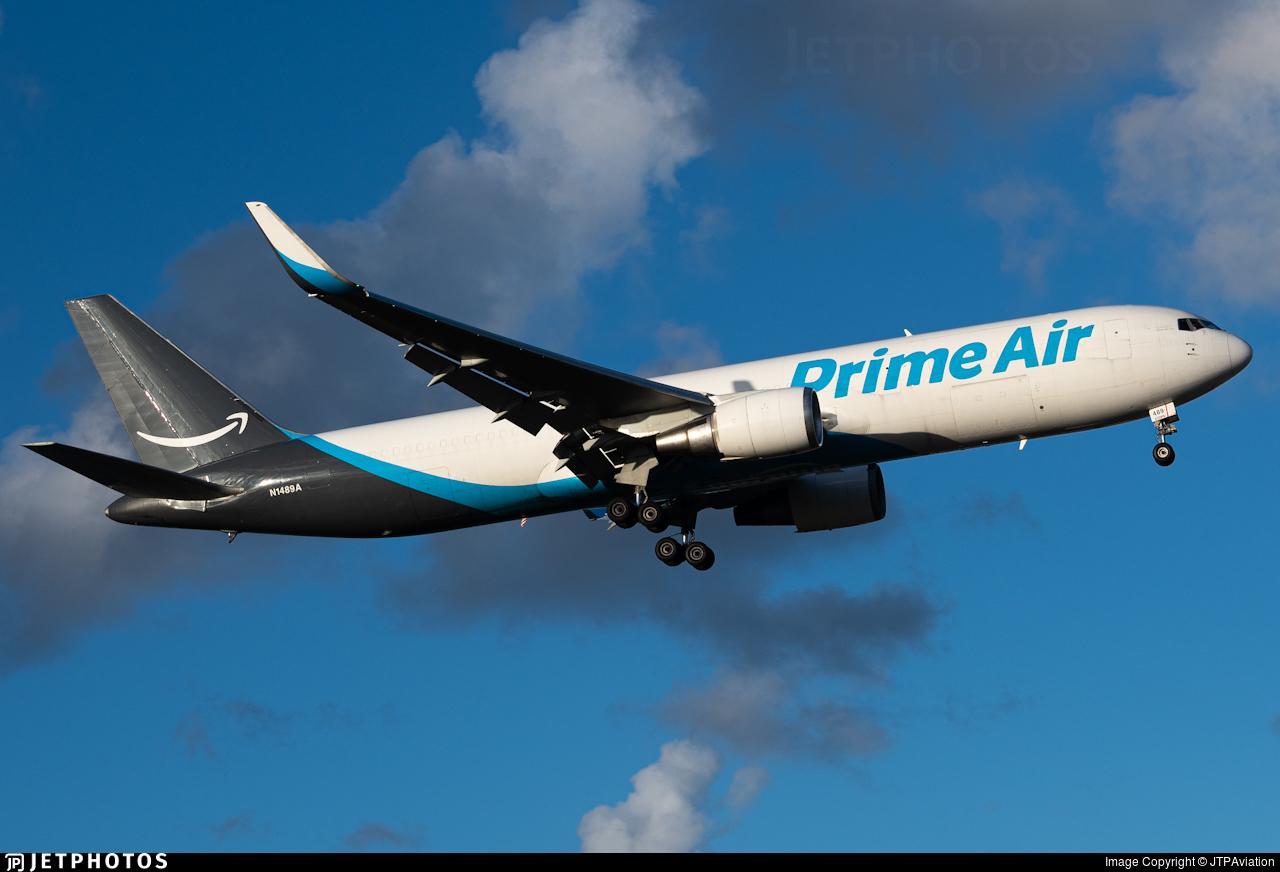 N1489A - Boeing 767-31K(ER)(BCF) - Amazon Prime Air (Atlas Air)